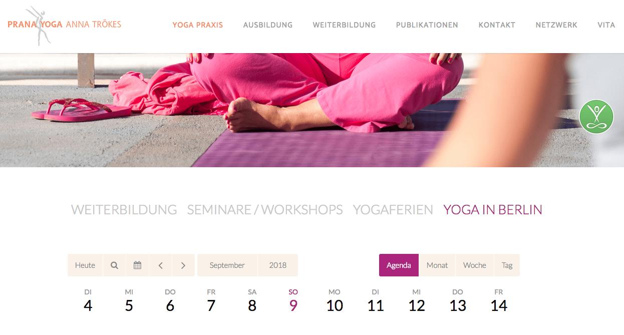 Prana Yoga Anna Trökes
